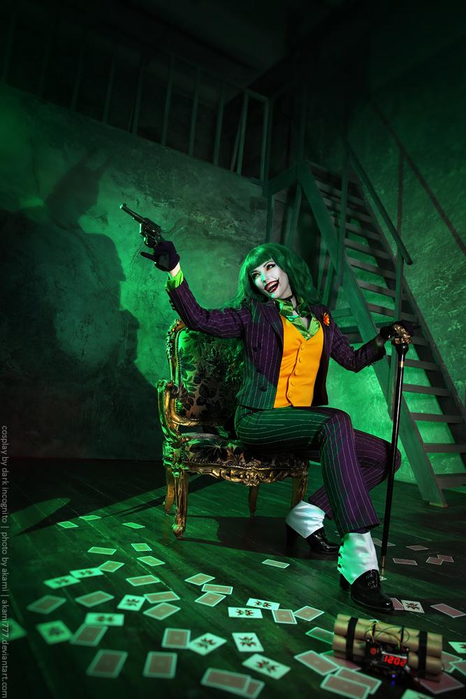 HydraEvil as Female Joker