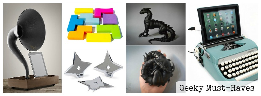 Geeky Must-Haves via GeekVirtue.wordpress.com