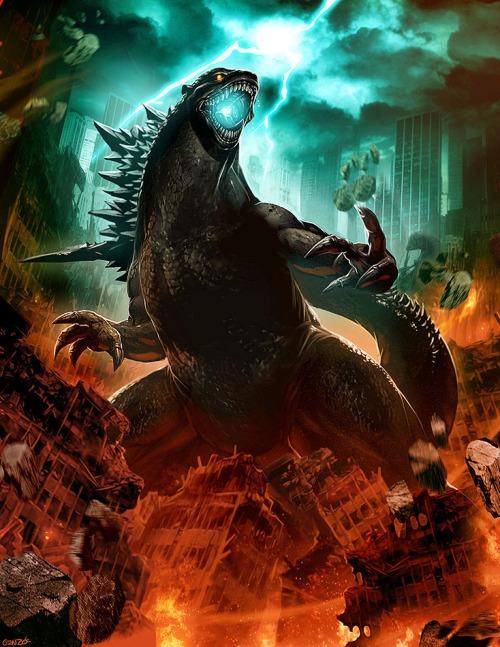 Godzilla by Genzoman